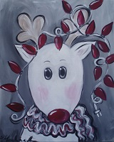Painting - Santa's Helper