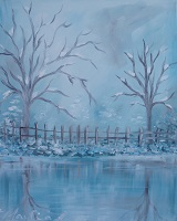 Painting - Winter Reflections